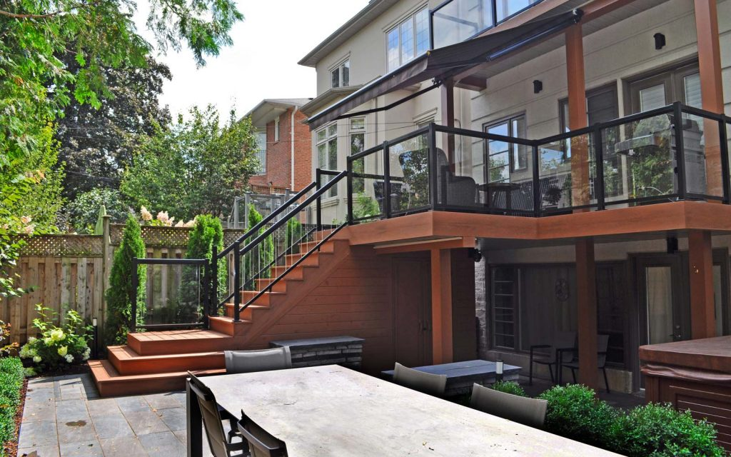 Toronto Multilevel Backyard Design