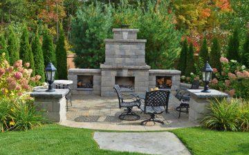 barrie back yard landscaping 2