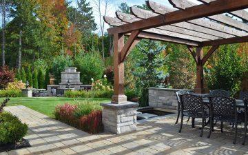 barrie back yard landscaping 3