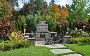 barrie back yard landscaping 6