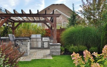barrie back yard landscaping 7