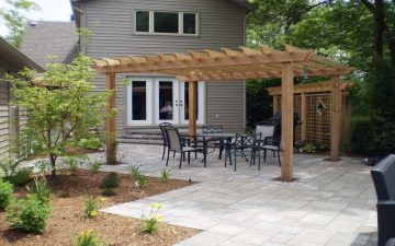Special backyard design technique in Burlington