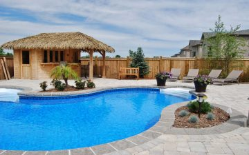 Burlington Tropical Pool Design
