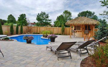 Burlington Cabana and Tropical Pool Design