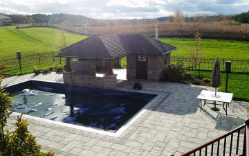 Caledon Pool Cabana Design