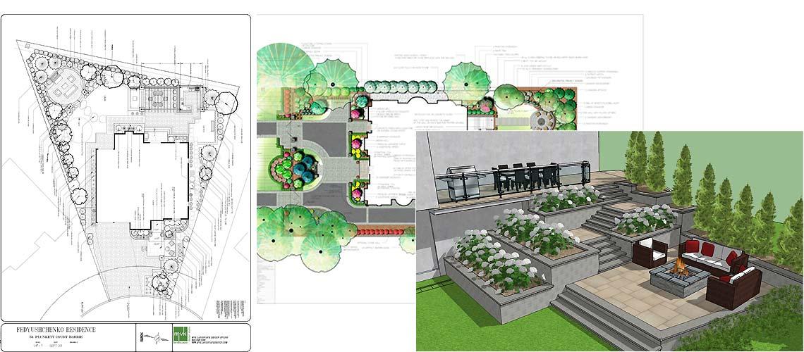 Landscape design process and generation