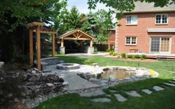 Backyard Design in Markham