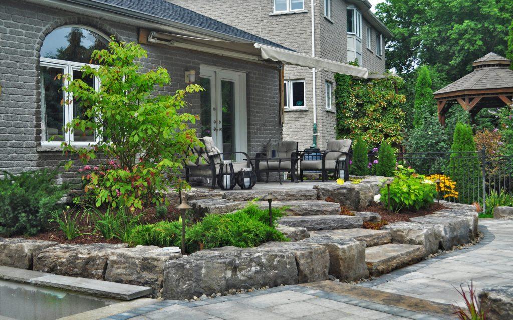 Naturalistic Style Landscaping Etobicoke 3