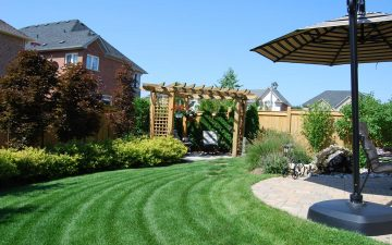 Oakville Beautiful Family Backyard Design
