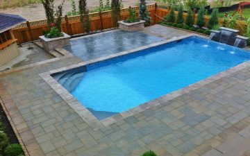 Waterfall and Pool Design in Richmond Hill