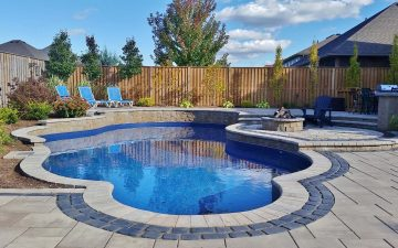 Pool Landscaping Design in Smithville