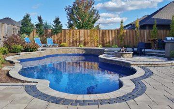 Pool Landscaping Design in Smithville