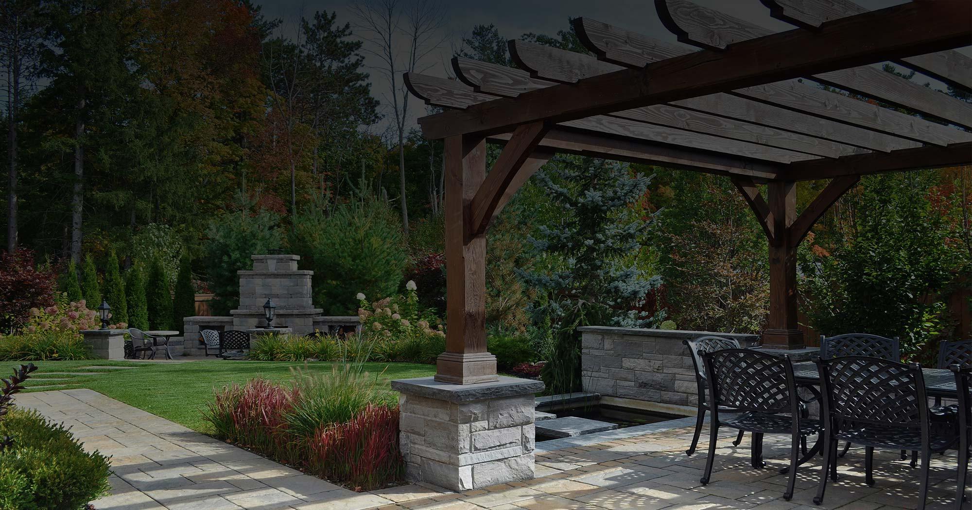 Backyards lanscaping design